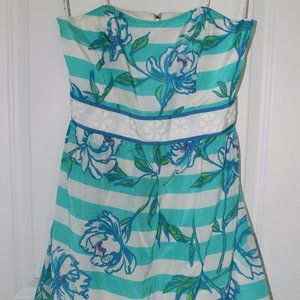 Lilly Pulitzer Strapless Dress (0)